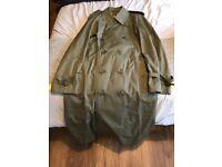 Original Burberry's Men's Trench Coat