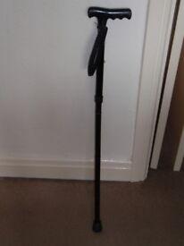 Black Adjustable Walking Stick