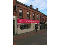Cafe Greenvale - 90 seater, 24-26 Greenvale Street, Ballymena (Beside Tower Centre Main Entrance)