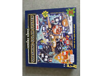 Horrible Histories Smashing Solar System 300 piece Jigsaw puzzle - As New