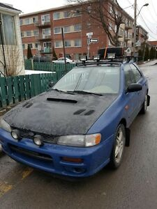 Subaru impreza wagon NEGO
