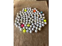 100x USED GOLF BALLS SUITABLE PRACTICE WASHED & INSPECTED COLLECTION ROMFORD RM5 £8 per 100 SPORT