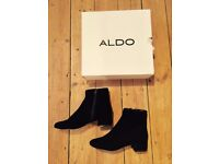 New suide ankle boots from ALDO -Werca - sold at half price