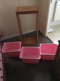 Ikea Trofast unit in Excellent condition