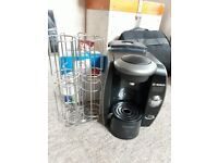 Tassimo By Bosch Coffee Machine with Pod Holder and Filters x6
