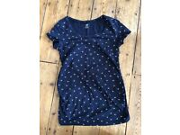 3 short sleeved maternity tops (H&M and GAP)