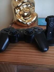 PS3 pad and head set
