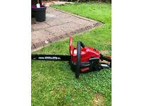 Mount field 3720 chainsaw nearly new
