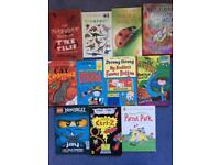 11 book bundle for approx age 5-9 years