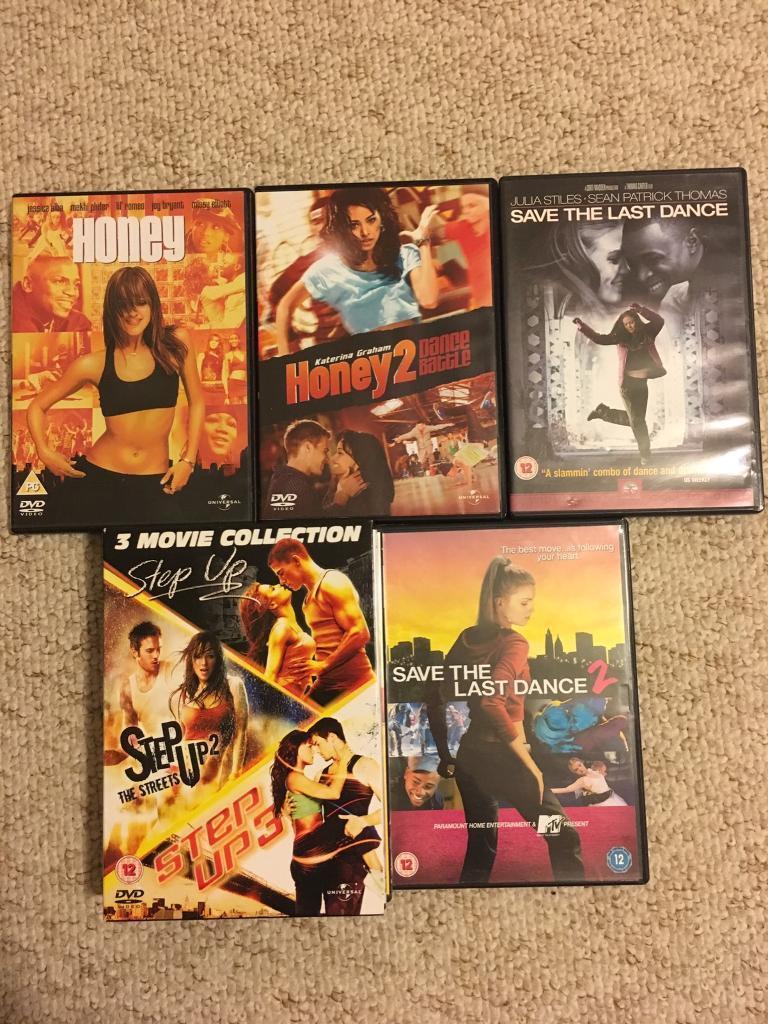 7 Dance DVDs