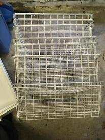 Various Ikea Baskets and boxes
