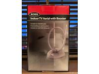 Indoor TV Aerial with Booster *new*