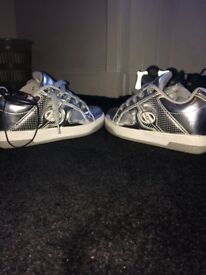 Metallic heelys