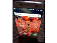 Samsung 7edge Pearl white. Open to all networks. Pristene cond
