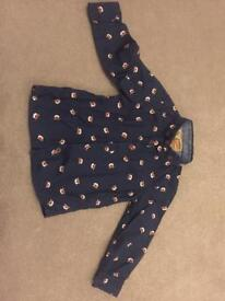 Boys blue Xmas Rudolph shirt 1 and 1/2 to 2 years