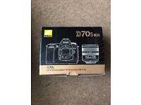 Nikon D70s Kit £125