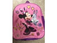 Minnie Mouse rucksack-excellent condition