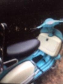 125cc Vespa