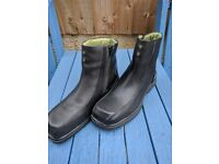 Safety Boots Lavoro Chelsea Boot Zipped Size 5 Ladies