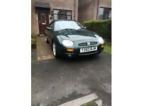 MGf 1.8 1999 low mileage convertible great condition summer car