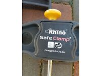 Rhino Safe clamps