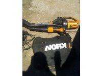Worx WG500E leaf bower/vacume