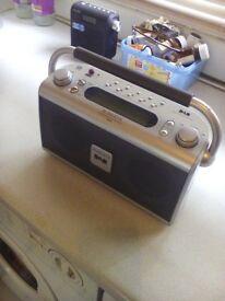 roberts and sony portable dab radios