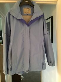 baby blue waterproof womens jacket