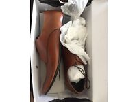 Mens Brown Formal Shoes - Size 9