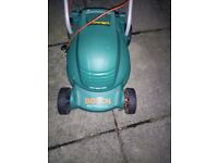 Bosch Rotak 320C Rotary Mower - Electric - with Grass box.