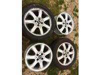 Mini 17inch Genuine Alloy Wheels set of 4