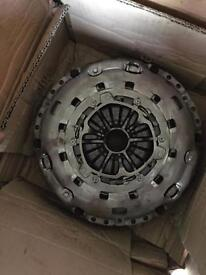 Duel mass fly wheel and clutch