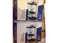 2017 Schweser Level III CFA workbooks brand new