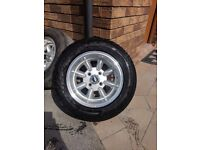 "Ford escort Capri cortina wheels 13""x7"""