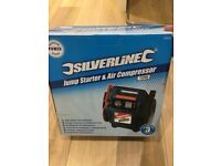 Silverline Jump Starter and Air Compressor
