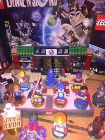 LARGE collection of LEGO dimensions sets