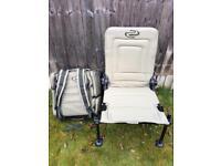 Korum Ruckbag and Chair