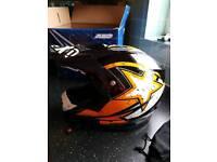 Axo moto x helmet