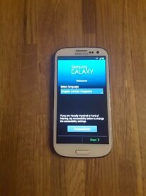 Samsung s3 in good condition, unlocked to any network