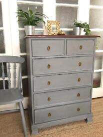 VINTAGE M&S CHEST FREE DELIVERY LDN 🇬🇧SHABBY chic
