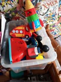 Mickey mouse big lego with extras