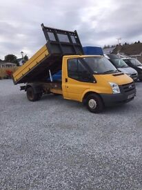 for sale this ford transit tipper 2008