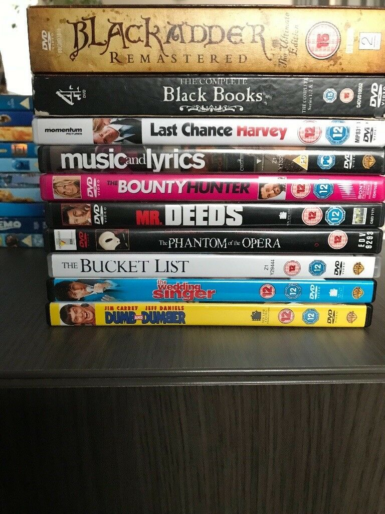Mixed dvds