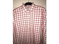 Tm lewin check shirt 17 xl