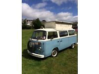 1976 T2 Bay VW Camper Van