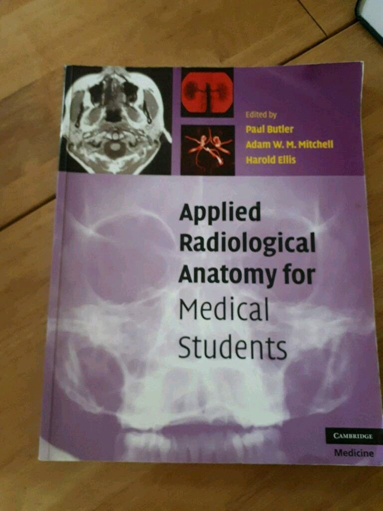 Applied Radiological Anatomy For Medical Students In Rubery West