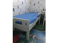 Childrens bed 170x60cm IKEA KRITTER - good condition w/o mattress - delivery possible