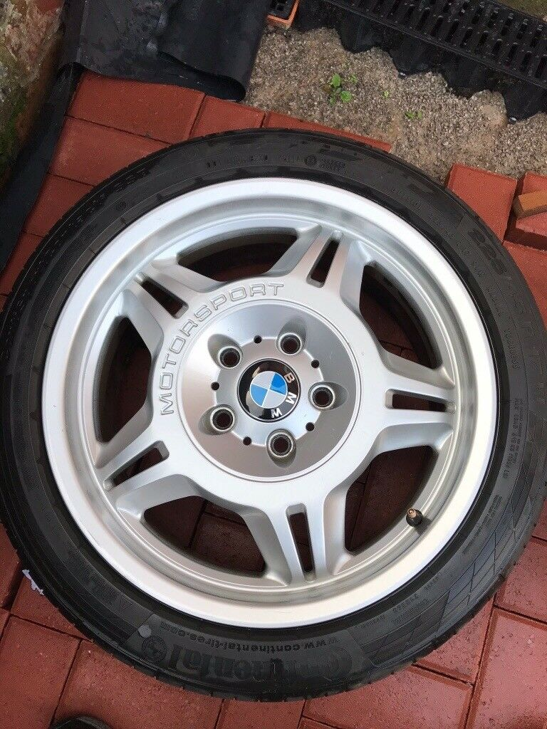 Bmw E36 Motorsport M3 Evo Alloy Wheels Fits E46 Z3 In