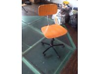 Desk chair for sale adjustable height, must go today