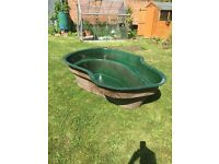 7ft x2ft pond and pump for sale - £100